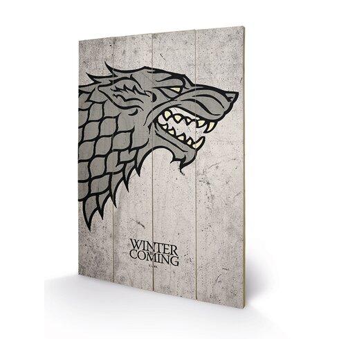 Game of Thrones, Stark Graphic Art Plaque