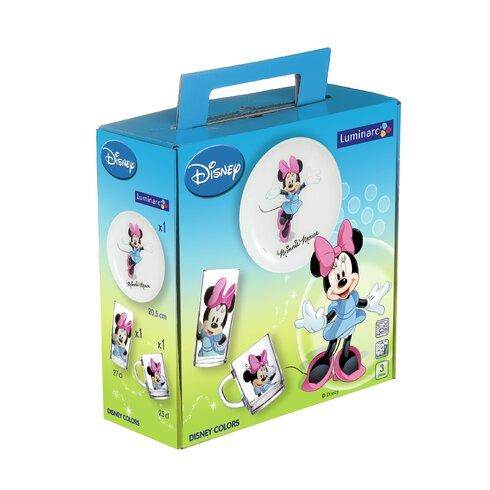 3-tlg. Kindergeschirr Disney Minnie Mouse
