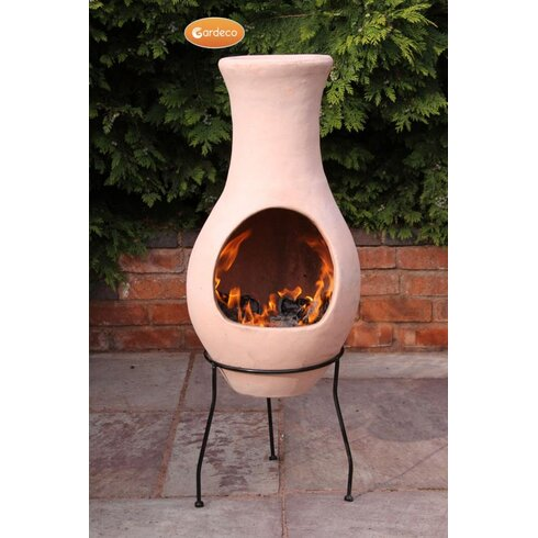 Steel Chiminea