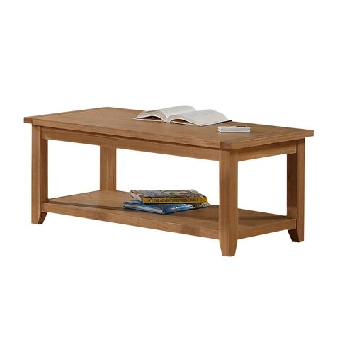 Stirling Coffee Table with Magazine Rack