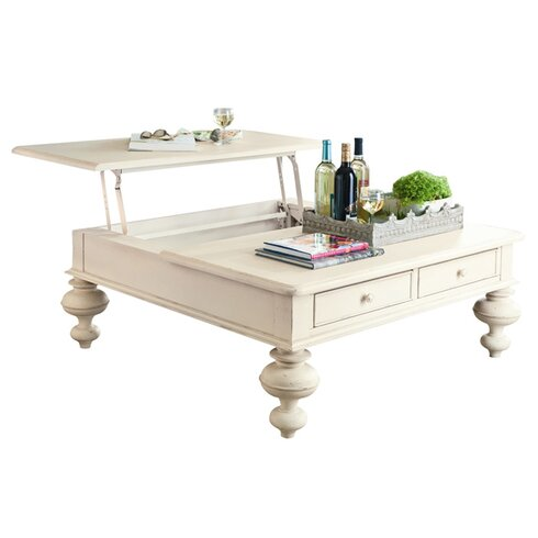 Wildon Home Paula Deen Home Put Your Feet Up Coffee Table With Lift Top Reviews Wayfair