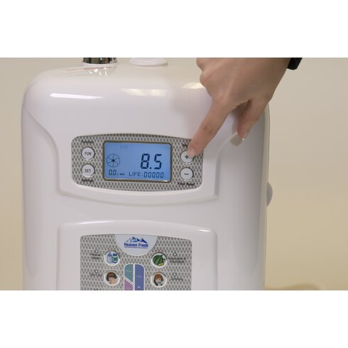 12.4cm Aqua Charger Water Ioniser and Purification System