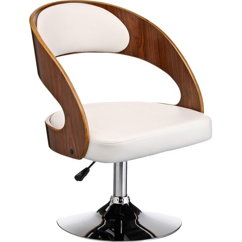 Julie Solid Walnut Upholstered Dining Chair