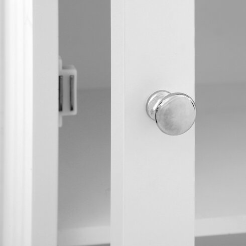 45 x 119cm Free Standing Tall Bathroom Cabinet