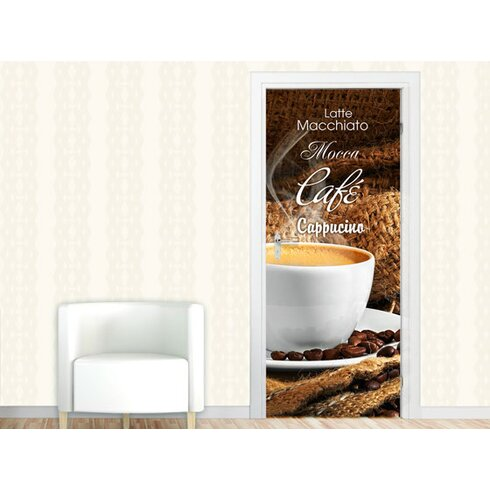 Türaufkleber Café Mocca