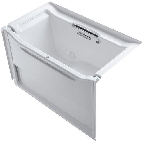 """Elevance 60"""" x 34"""" Air Bathtub"""