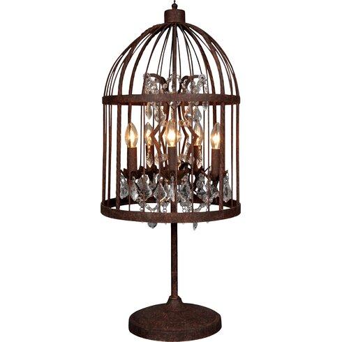 Birdcage 90cm Table Lamp