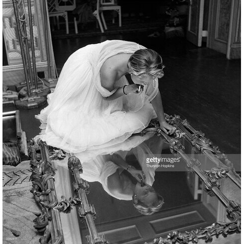 Make Up Mirror by Thurston Hopkins Photographic Print