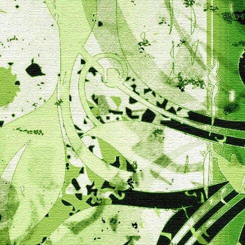 Jungle Drum Graphic Art on Canvas