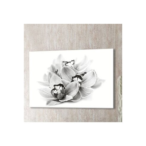 Orchid Blossom Photographic Print on Canvas