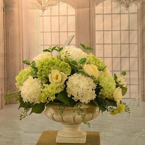 Hydrangea Large Silk Flower Arrangement