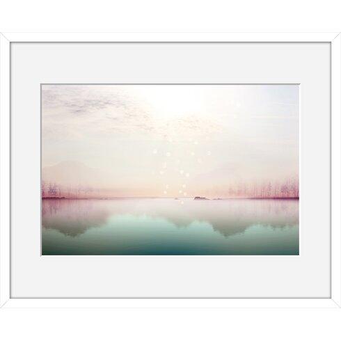 Solitude by Iris Framed Graphic Art