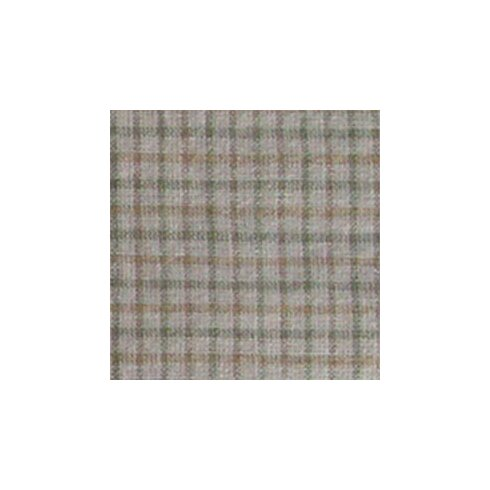 "Acres of Acorns Light Brown Checks Fabric 54"" Curtain Valance"
