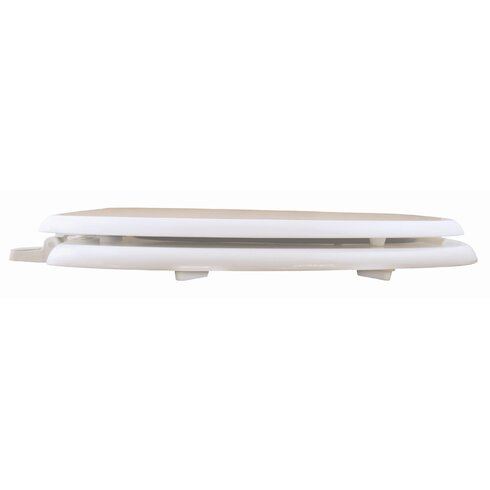 Deluxe Square Front Elongated Toilet Seat