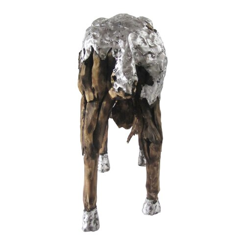 Driftwood Sheep Statue