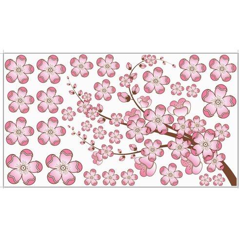 Glastattoo-Set Kirschblüten