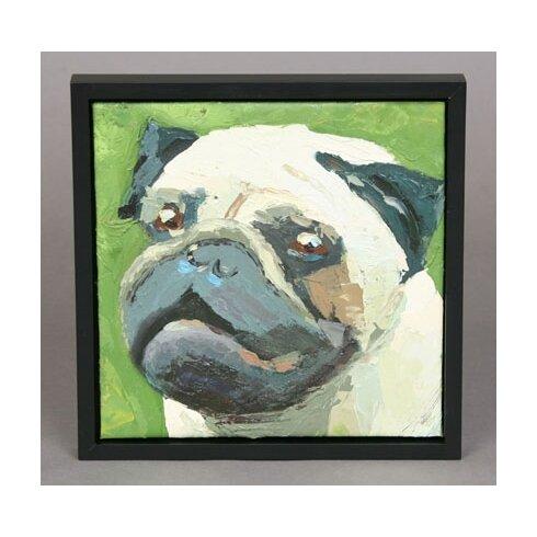 Pug Framed Painting
