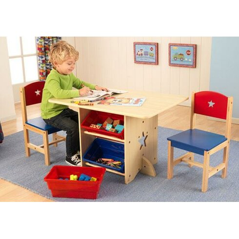 KidKraft Star Kids 5 Piece Table and Chair Set & Reviews ...