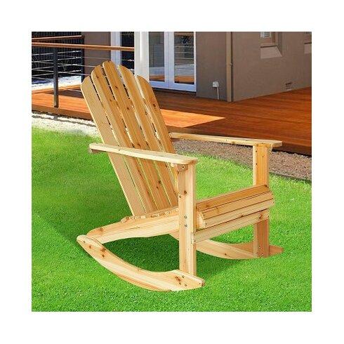 Garden Adirondack Rocking Chair