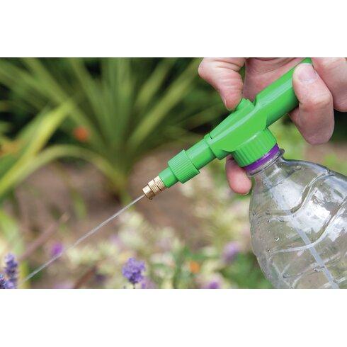 Schärfer für Gartenwerkzeuge mit Sprühflaschenaufsatz