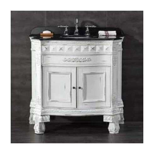 York 36 Single Bathroom Vanity Set