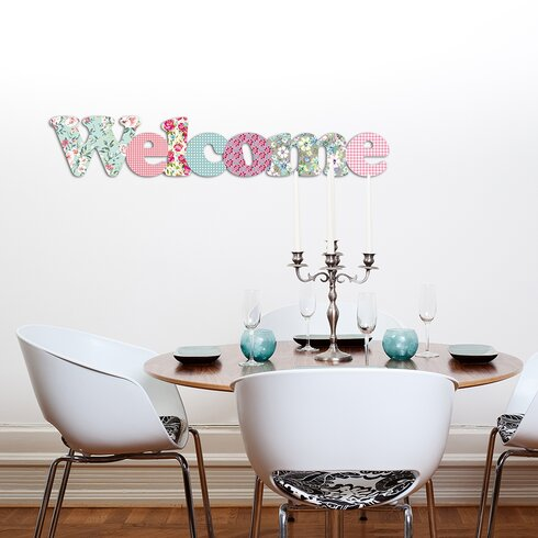 Welcome Wall Décor