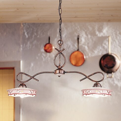 Alessandria 2 Light Bar Pendant Lamp