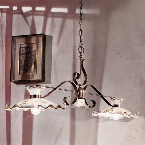 Milano 2 Light Bar Pendant Lamp