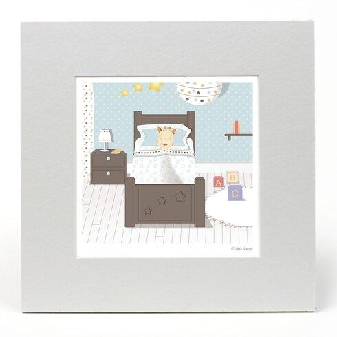 "Sophie La Girafe ""Bedtime"" Graphic Art"