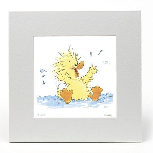 "Little Suzy's Zoo ""Splash"" Graphic Art"