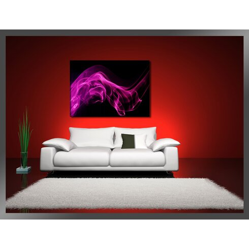 Smoke Graphic Art on Canvas