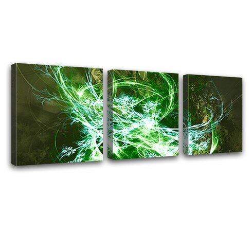 Tension 3 Piece Graphic Art on Canvas Set