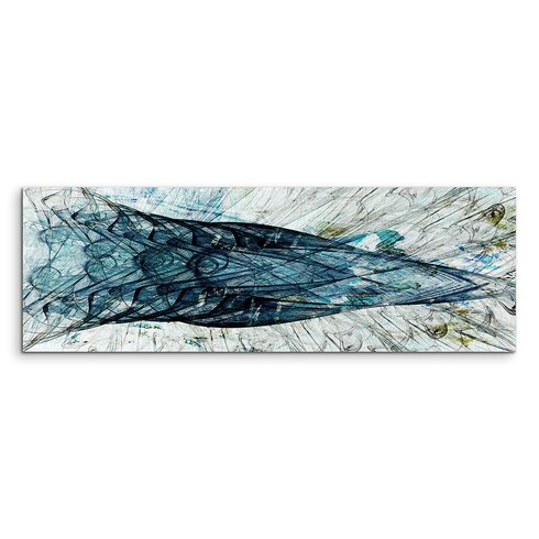 Enigma Panorama Abstrakt 1241 Framed Graphic Print on Canvas
