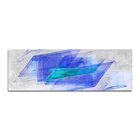 Enigma Panorama Abstrakt 199 Framed Graphic Print on Canvas
