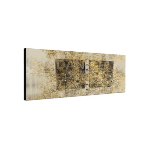 Enigma Panorama Abstrakt 420 Framed Graphic Print on Canvas