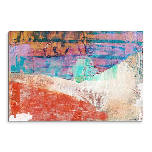 Enigma Abstrakt 760 Framed Graphic Print on Canvas