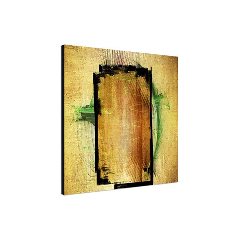 Enigma Abstrakt 381 Framed Graphic Print on Canvas