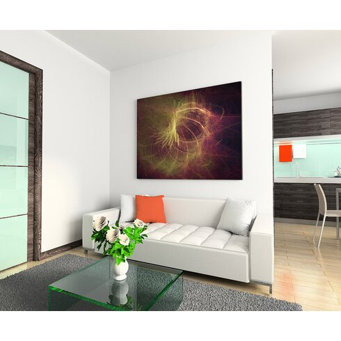 Enigma Abstrakt 1164 Painting Print on Canvas