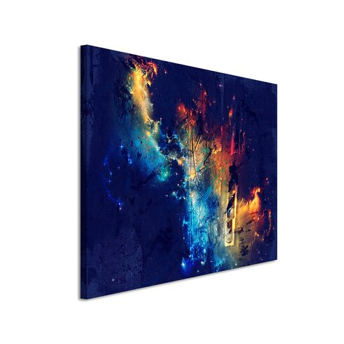 Enigma Abstrakt 810 Painting Print on Canvas