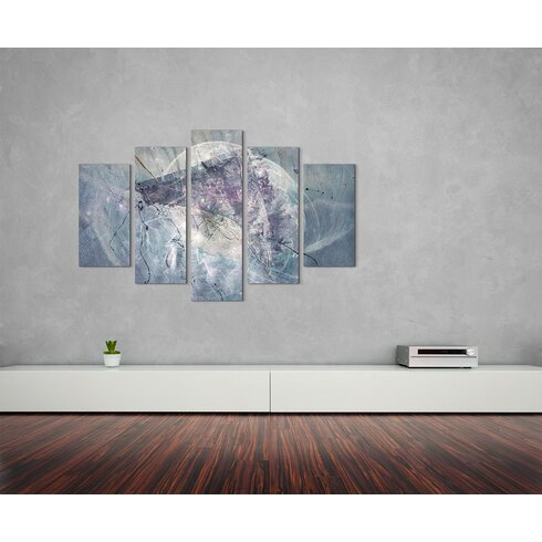 Enigma Skulptur Abstrakt 1212 Painting Print on Canvas Set