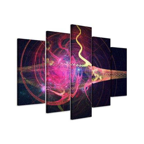Enigma Skulptur Abstrakt 1096 Painting Print on Canvas Set