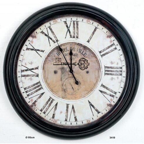 Château XXL 85cm Analogue Wall Clock