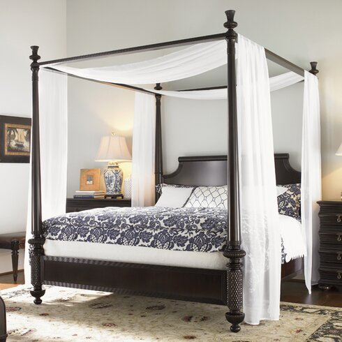Tommy Bahama Home Royal Kahala Four Poster Bed Amp Reviews