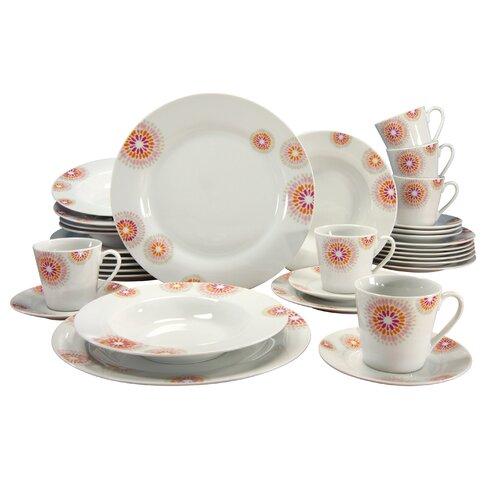 Novo Mara 30 Piece Dinnerware Set, Service for 6