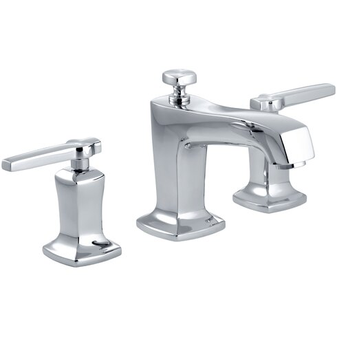 Margaux Widespread Bathroom Sink Faucet With Lever Handles