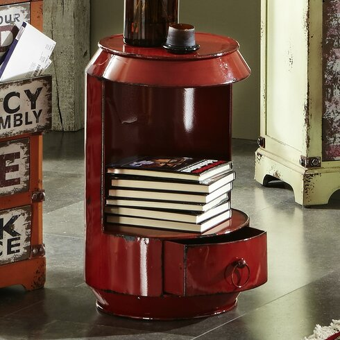 Marcia Side Table with Storage