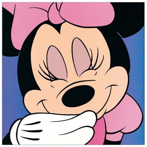 Minnie Mouse Vintage Advertisement Plaque