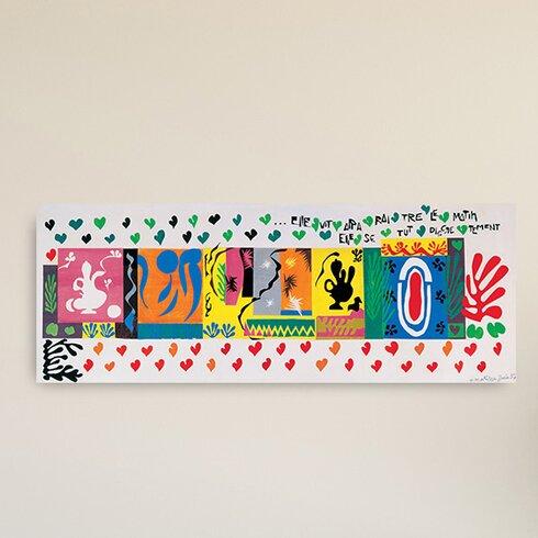 'Le Mille E Una Notte 1950' by Matisse Graphic Art Plaque
