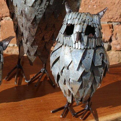 Medium Owl Statue