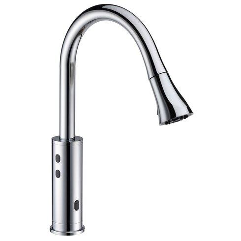 Cinaton Touchless Deck Mounted Kitchen Faucet